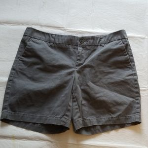 7 inch inseam  gray shorts. NWT.  SIZE 4